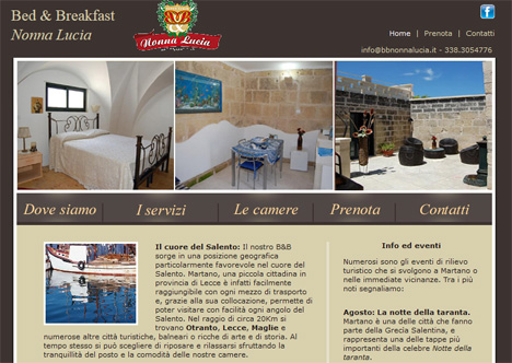 bed breakfast salento